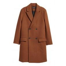 Двуредно палто, вълнена смес