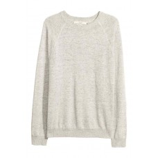 Плетен пуловер от памук