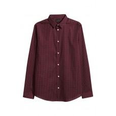 Риза от памук Slim fit